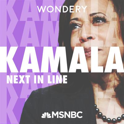 "Kamala Harris may be on the cusp of becoming Vice President following one of the most tumultuous elections in U.S. history. Hosted by MSNBC's Joy Reid, ""Kamala: Next In Line"" tells the cross-cultural journey that led Harris from her humble roots to become the first Black woman to represent California in the Senate and now the first Black woman to be the Vice-Presidential nominee for a major party. From Oakland to Howard University, from California to Washington D.C., experience her story as it has never been told before. From Wondery, the team behind ""The Shrink Next Door,"